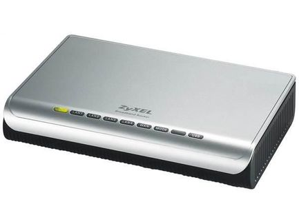 ZyXEL P-335 Plus, Broadband Router: 4-port 10/100 switch, USB PrintServer