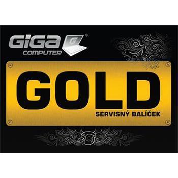 "Gigacomputer Servisný kupón ""GOLD"""