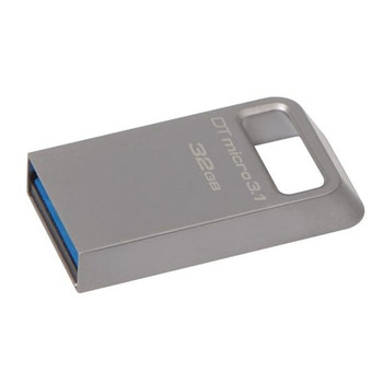 Kingston 32 GB, USB kluc, Kingston, DataTraveler Micro 3.1, USB 3.0