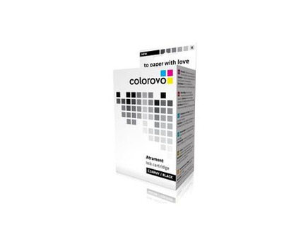 Atrament COLOROVO 337-BK, Black, 25ml, HP 337 (C9364EE)