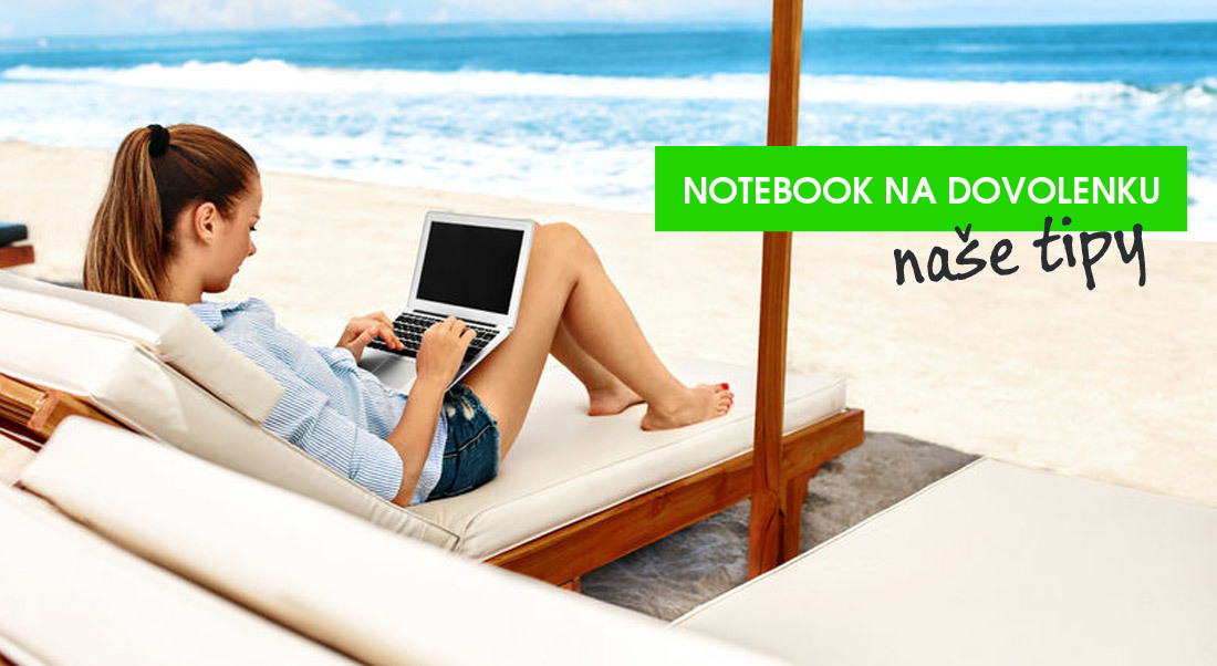 Notebook na dovolenku