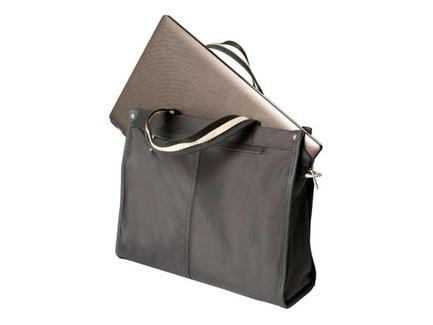 Dámska kabelka pre notebook do 13.3'' - čierna