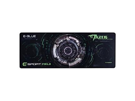Podložka pod myš, Gaming XL, herná, čierno-zelená, 80x30cm, E-Blue