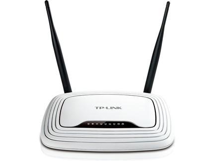 TP-LINK TL-WR841N, bezdrátový N router, 1x WAN, 4x LAN, 802.11n 300Mbps