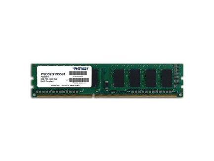 Patriot 2GB 1333MHz DDR3 CL9 DIMM