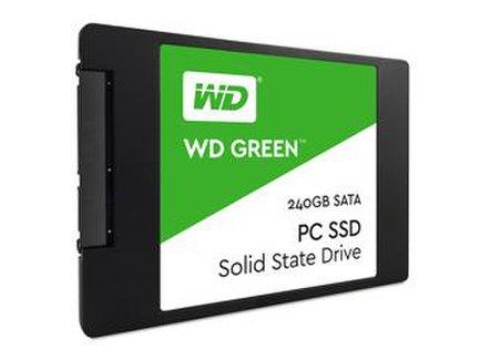 """WD GREEN SSD 3D NAND 240GB SATA/600, (R:500, W:400MB/s), 2.5"""""""