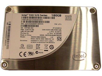 Intel® SSD 520 Series 180GB, 2.5'' SATA 6Gb/s, 25nm, MLC