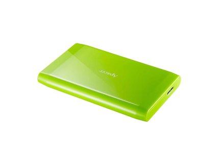 """Apacer externý pevný disk, AC235, 2.5"""", USB 3.0, 500GB, AP500GAC235G-1, zelený, LED indikátor rýchlosti prenosu"""