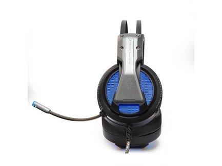 E-Blue, EHS971, herné slúchadlá s mikrofónom, ovládanie hlasitosti, čierna, USB