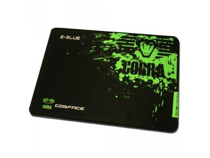 Podložka pod myš, Cobra S, herná, čierno-zelená, 28x22.5cm, E-Blue