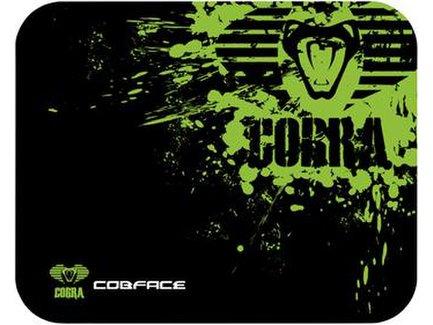 Podložka pod myš, Cobra M, herná, čierno-zelená, 36.5x26.5cm, E-Blue