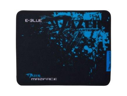 Podložka pod myš, Mazer Marface M, herná, čierno-modrá, 36.5x26.5cm, E-Blue