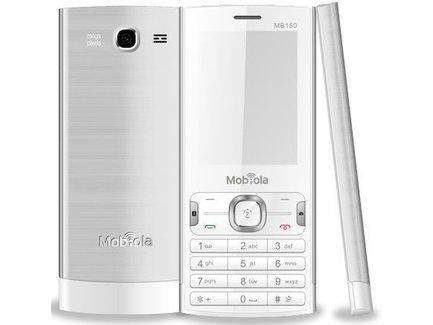 Mobiola MB150 DualSIM White/Silver
