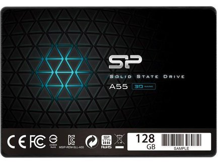Silicon Power SSD Ace A55 128GB 2.5'' SATA III 6GB/s, 560/530 MB/s, 3D