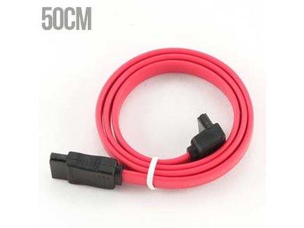 SATA datovy kabel 50cm lomeny 90 stupnov