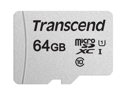 Transcend pam.karta SDXC USD300S 64GB CL10 UHS-I Up to 95MB/S