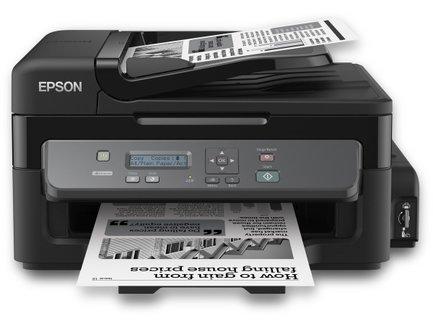 Epson WF M200, A4, 2400/1440dpi, AIO, ADF, Eth, ex.napln