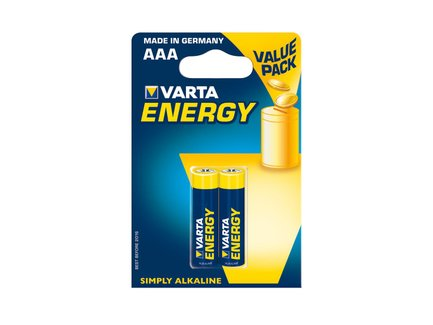 VARTA Alkaline batteries R3 (AAA) 2 ks energy