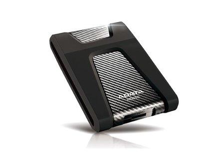 ADATA HD650 DashDrive ™ Durable 2TB ext. HDD, USB 3.1, odolný voči nárazom, čierny