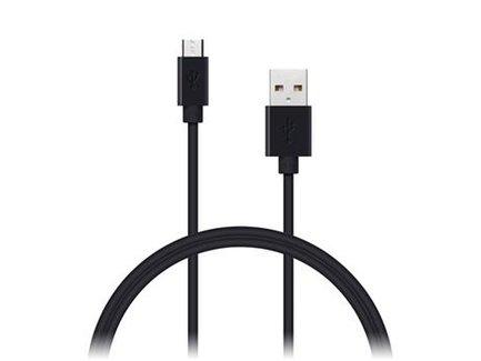 CONNECT IT Wirez kábel USB - micro USB, 1m, čierny