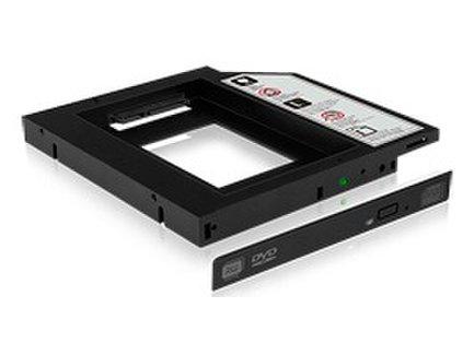 IcyBox interný rámček 3.5''' pre SSD/HDD 2.5'', čierny