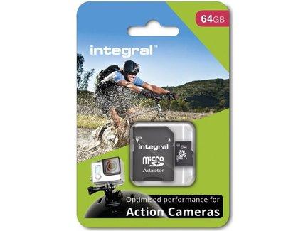 INTEGRAL Pamäťová karta pro Action Camera micro SDHC/SDXC 64GB (GoPro)